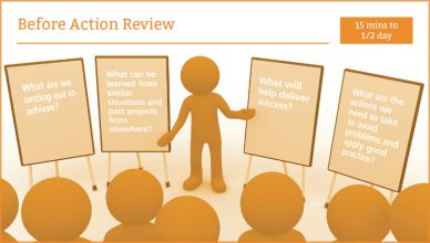 Before Action Review Image