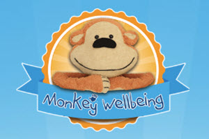 Image of the Monkey Well Being Logo
