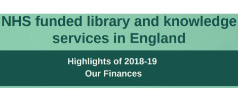 NHS Funded library and knowledge services in England image