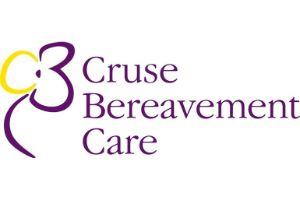 image text says cruse bereavement care - coping with death and dying