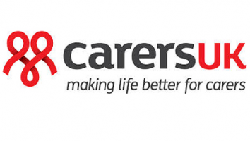 Carers UK making life better for carers in words on a white background makes this logo