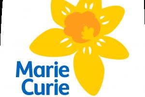 Marie curie daffodil logo