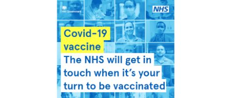 NHS Covid vaccine roll out graphic