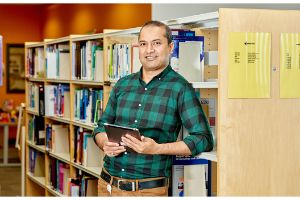 Health information with Health information Librarian in health setting